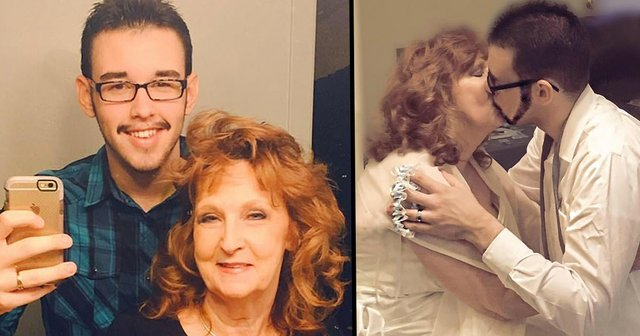 72-Year-Old Marries Teen She Met At Her Sons Funeral   22