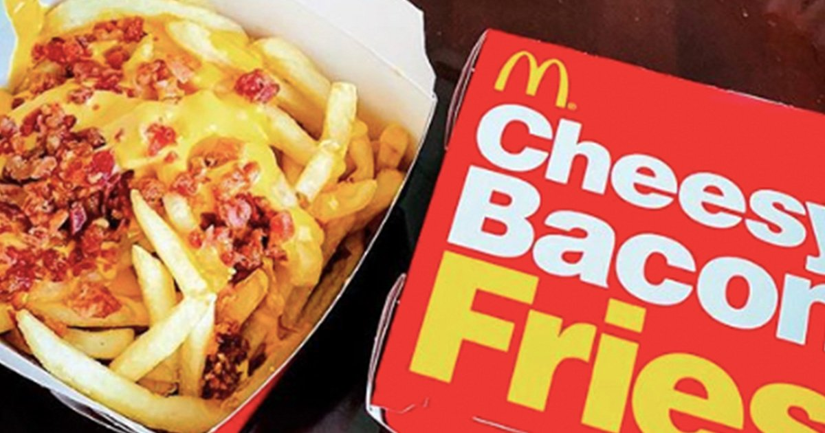 Mcdonald S Are Starting To Sell Cheesy Bacon Fries In 2019 22 Words