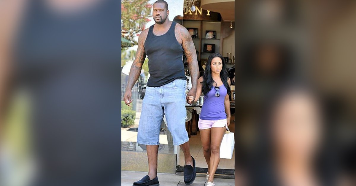 What Is Shaq S Shoe Size.38 Pictures That Prove Shaquille O Neal Is A Real Life Giant