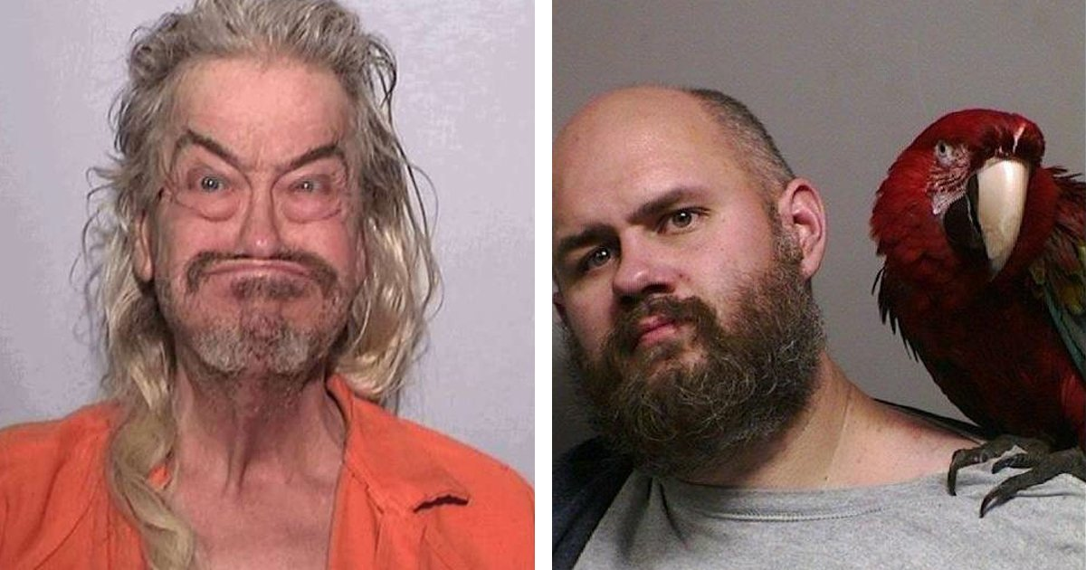 Weird Mugshot Photos 1