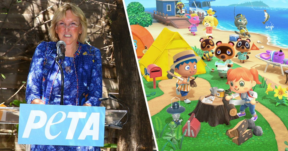 PETA Warn Vegan Players They Shouldn't Fish, Clam, or Sell Bugs While Playing 'Animal Crossing'