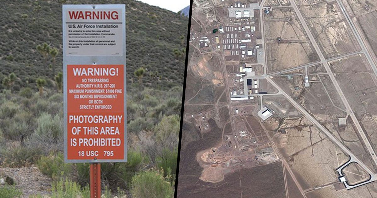 Alien Hunter Finds Ufo At Area 51 Using Google Earth 22w