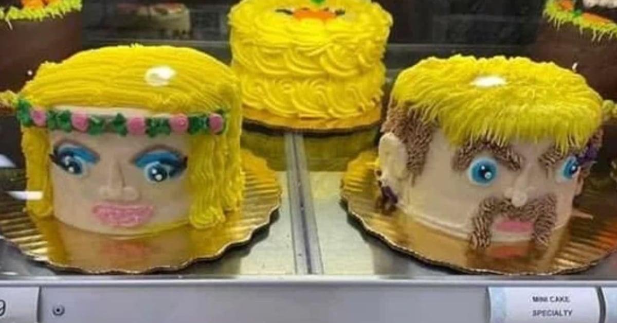 Shop Creates Incredible Joe Exotic and Carole Baskin Cakes