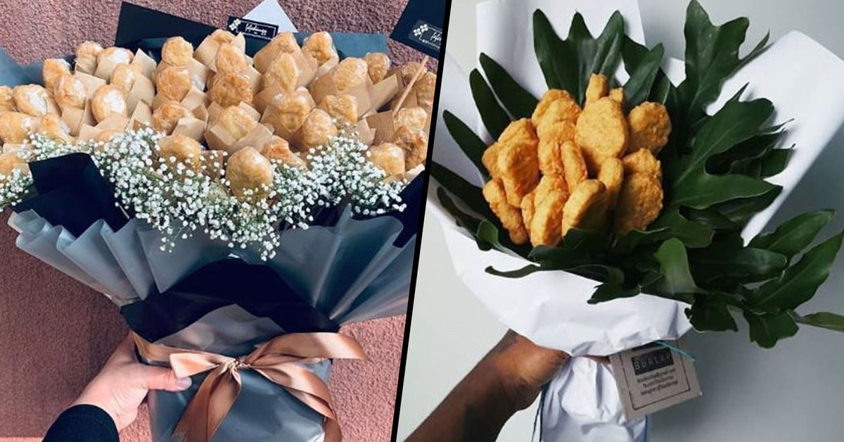 People Are Giving Loved Ones Bouquets of Chicken Nuggets for Valentine's Day