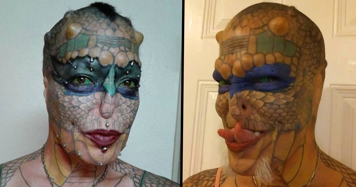 Trans-Species Woman Spends $50,000 to Turn Herself Into a Dragon
