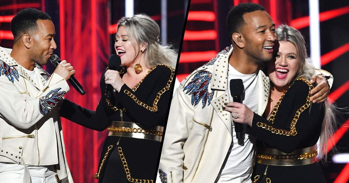 John Legend and Kelly Clarkson Re-Write 'Baby It's Cold Outside' Because the Old Lyrics Were ...