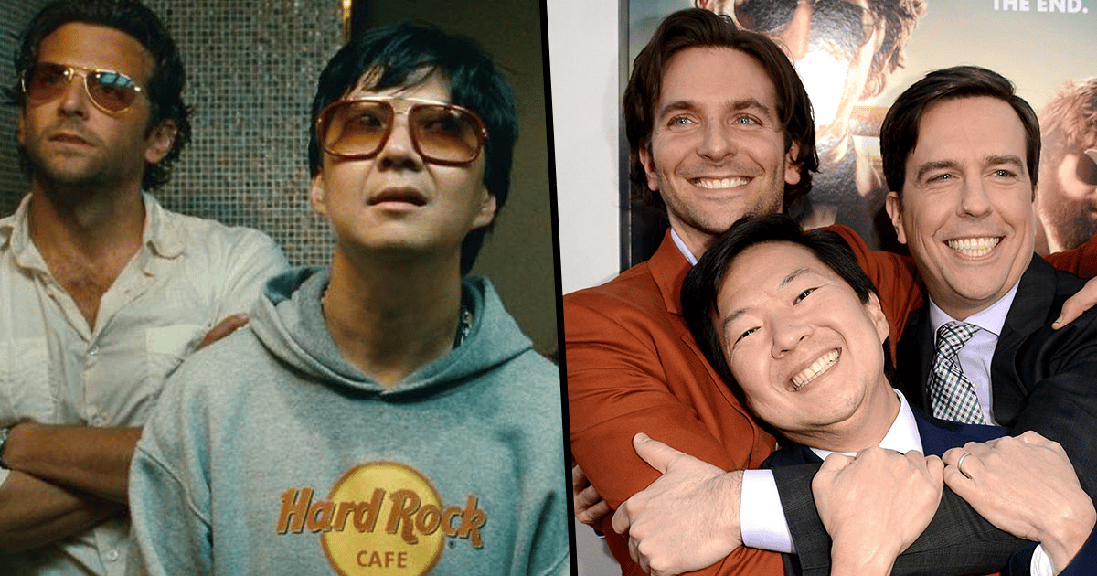 Bradley Cooper Helped Ken Jeong In Most Heartwarming Way While Filming The Hangover 22 Words