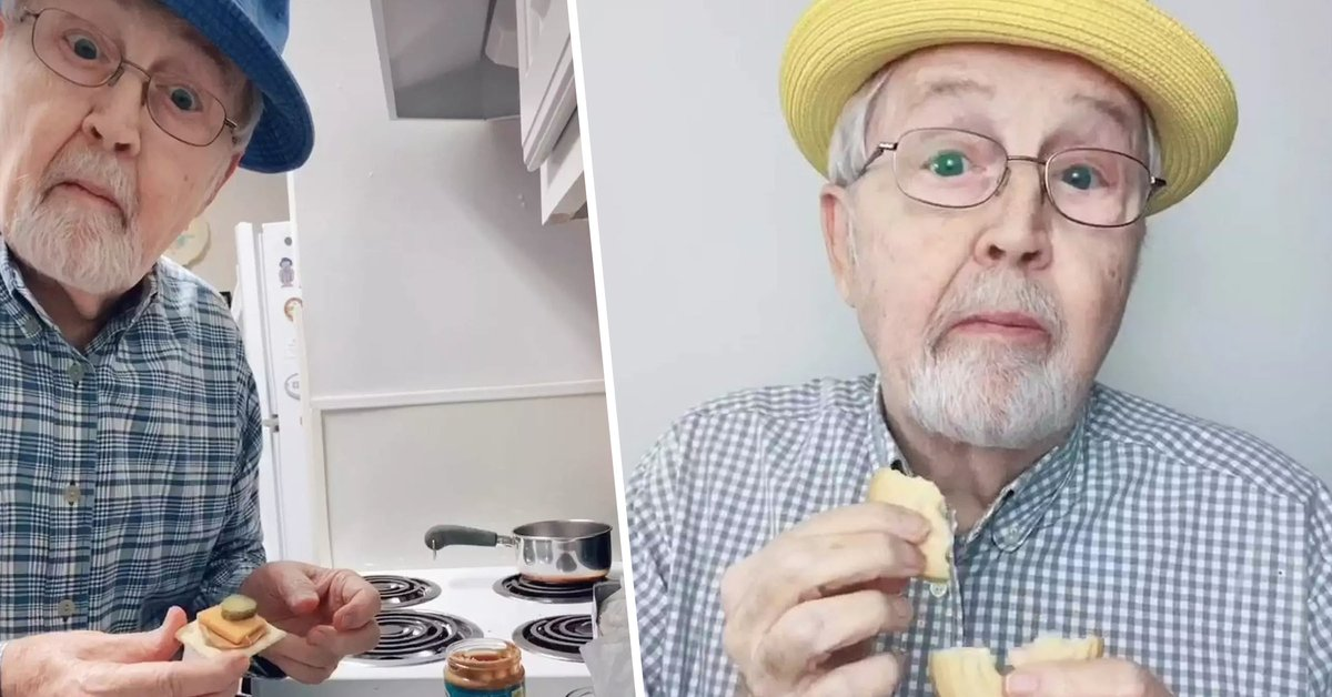 Lonely Old Man Becomes TikTok Sensation by Sharing Videos of Him Cooking