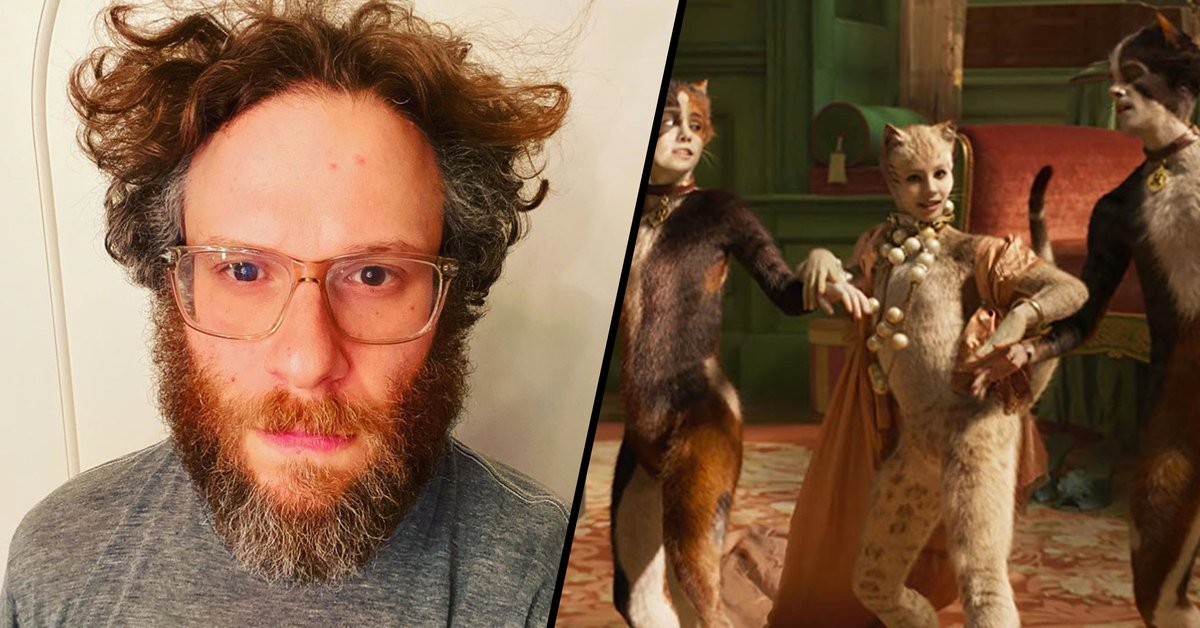 Seth Rogen Watched 'Cats' for the First Time While High in Isolation