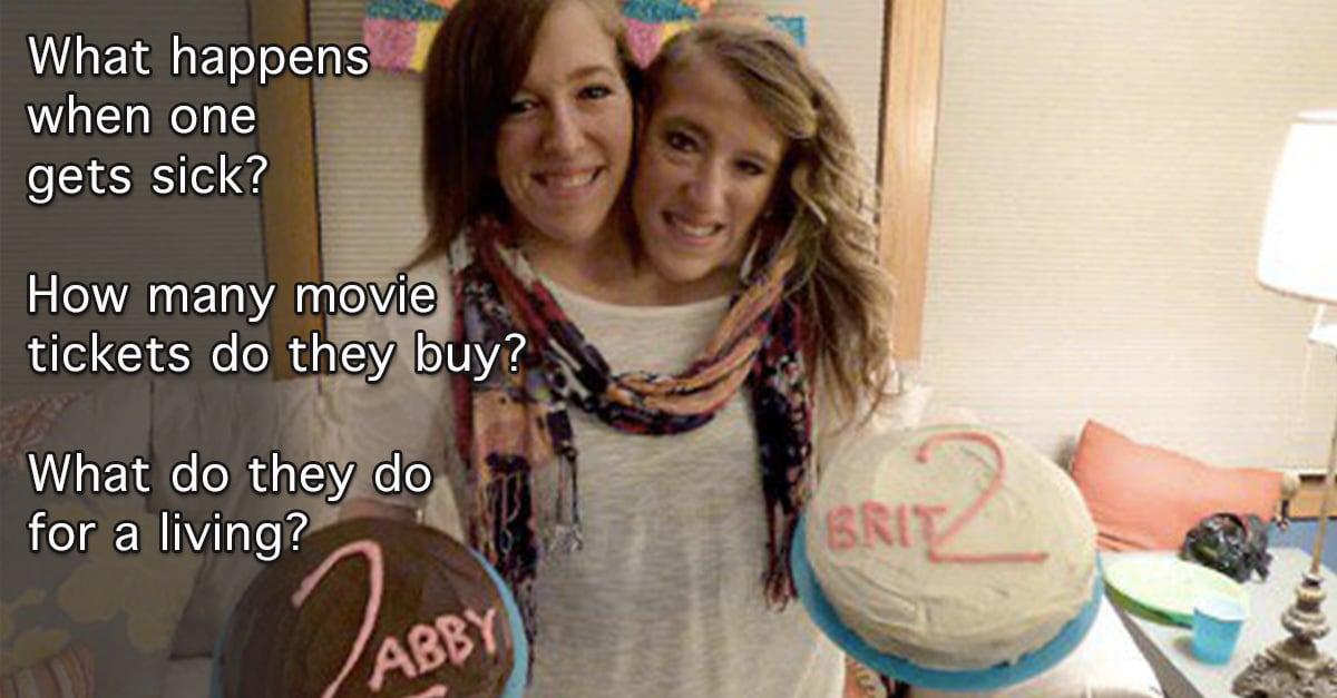 Abby och Brittany Hensel 2012 dating mycket manliga dating
