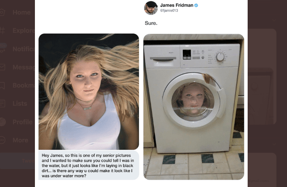 People Are so Annoyed at This Guy Who Takes Photoshop Requests Literally
