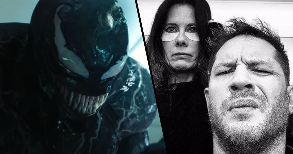 Tom Hardy Posts Photo On Set Of Venom 2 Then Deletes It
