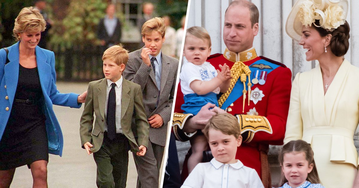 Prince William Says Diana Would Have Been a 'Nightmare' Grandma