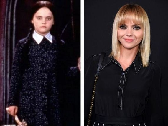 25 years later see what the cast of the addams family looks like