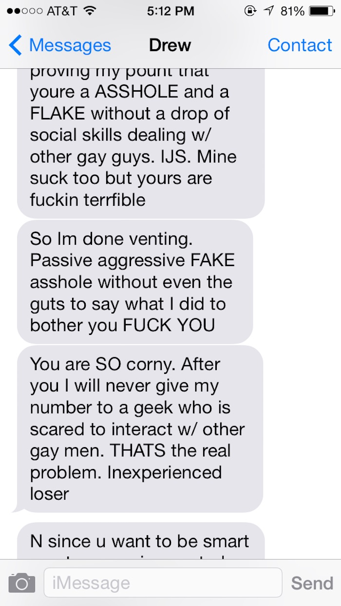 Rejected Guy On Okcupid Goes On Insane Rant That Lasts For Hours