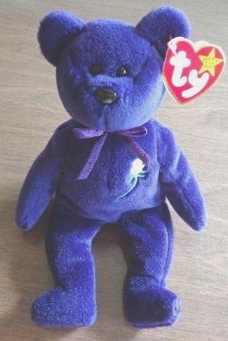014e370d7ec The most expensive single Beanie Baby in the world. The Princess Diana bear.
