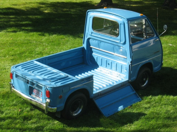Very tiny 1969 pickup truck in nearperfect condition for sale