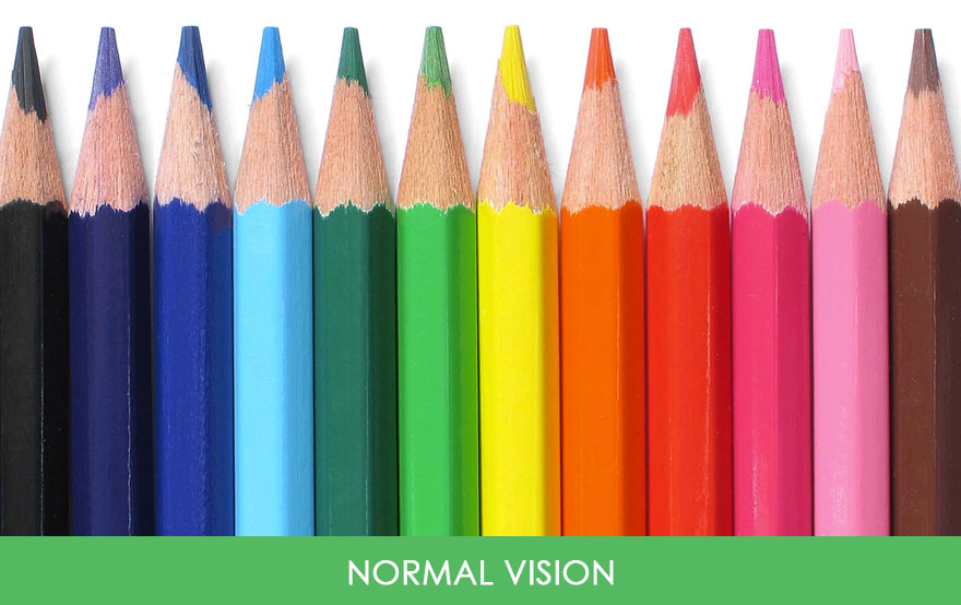 this is how people with color blindness see the world 22 words