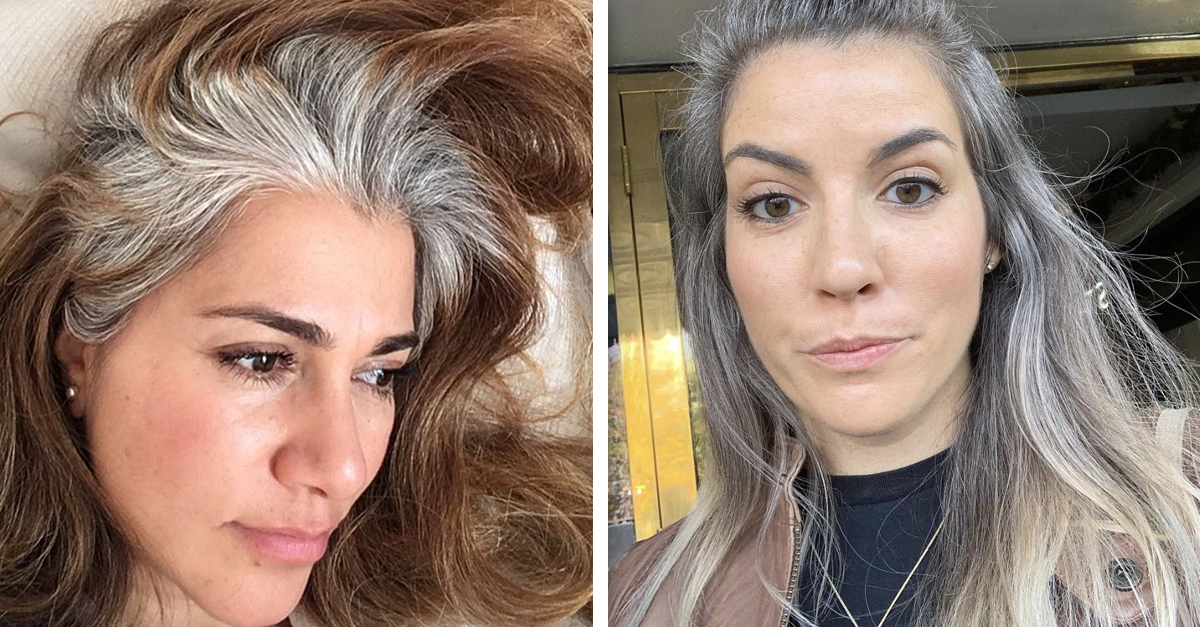 Hairstyles 2019: 2019's New Trend Is Young Women Rocking Their Natural Gray
