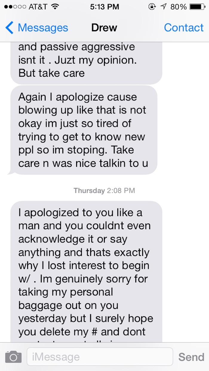 Im Sorry Best Friend Paragraphs