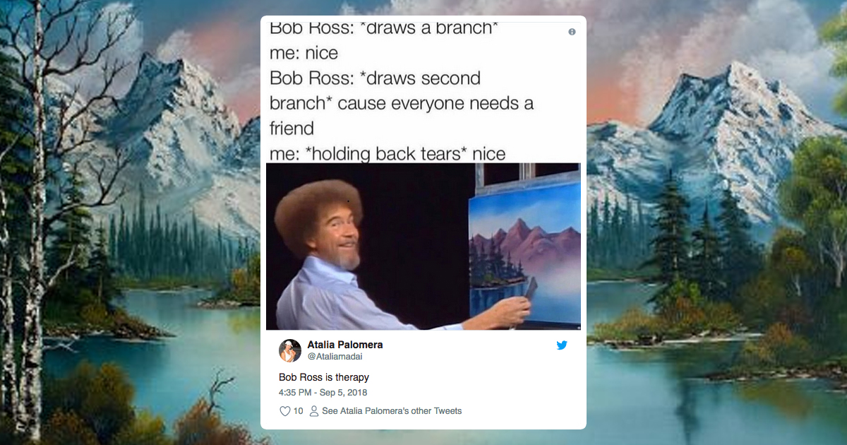 25 Amazing Facts About The Painting Sensation, Bob Ross | 22