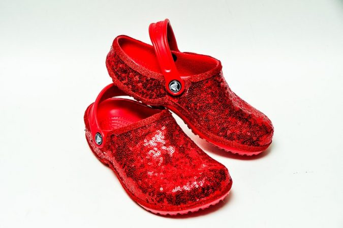c5b3aa397 You Can Now Buy White Glitter Crocs for Your Wedding Day
