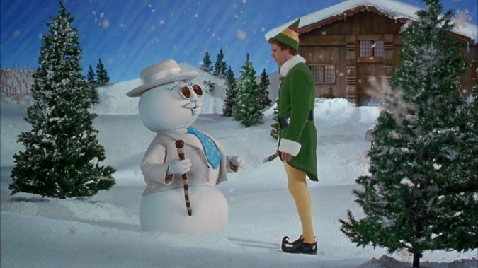 name of the snowman at the North Pole is Leon, after the singer Leon ...