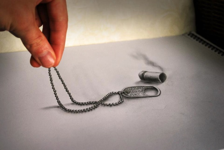 3D Pencil Sketches - 07