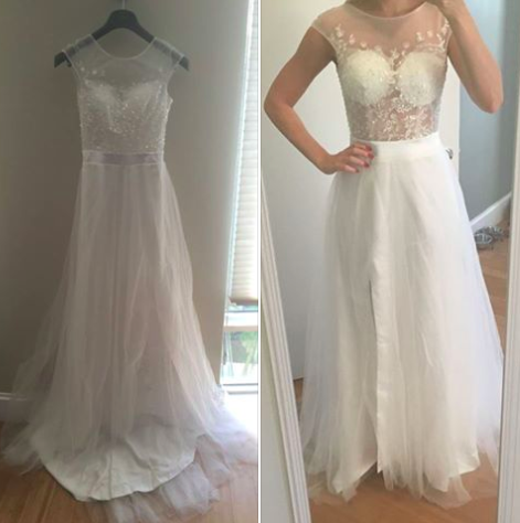 Wedding Dress Fails.These Online Wedding Dress Fails Make The Case For Always