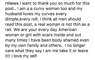 Man's Letter To His 'Curvy' Wife Set the Internet On Fire