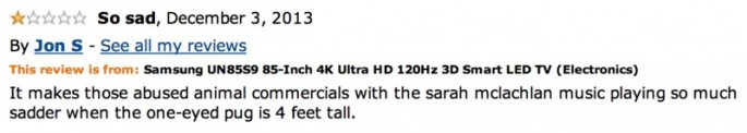 Amazon Reviews of 85-inch TV - 05
