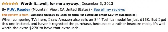 Amazon Reviews of 85-inch TV - 06