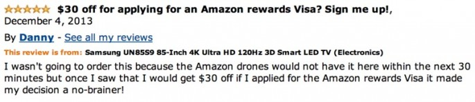 Amazon Reviews of 85-inch TV - 08