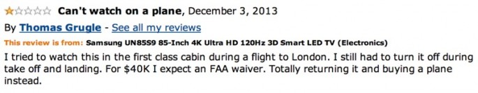 Amazon Reviews of 85-inch TV - 16