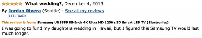 Amazon Reviews of 85-inch TV - 18