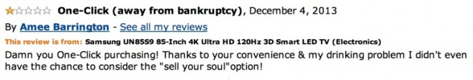 Amazon Reviews of 85-inch TV - 19