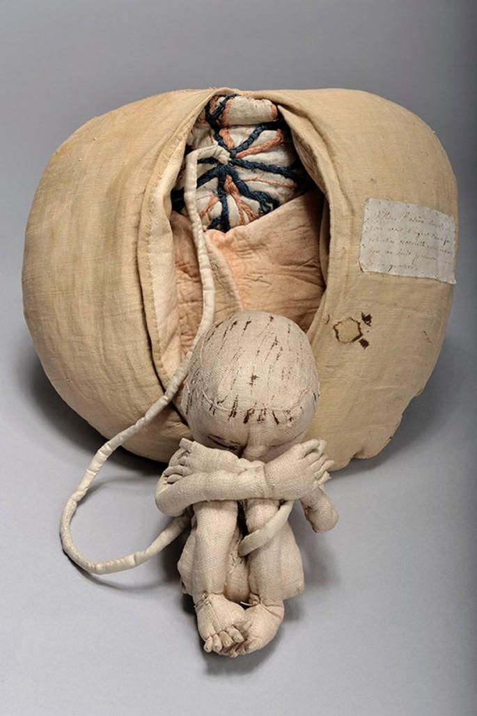 Antique Childbirth Model