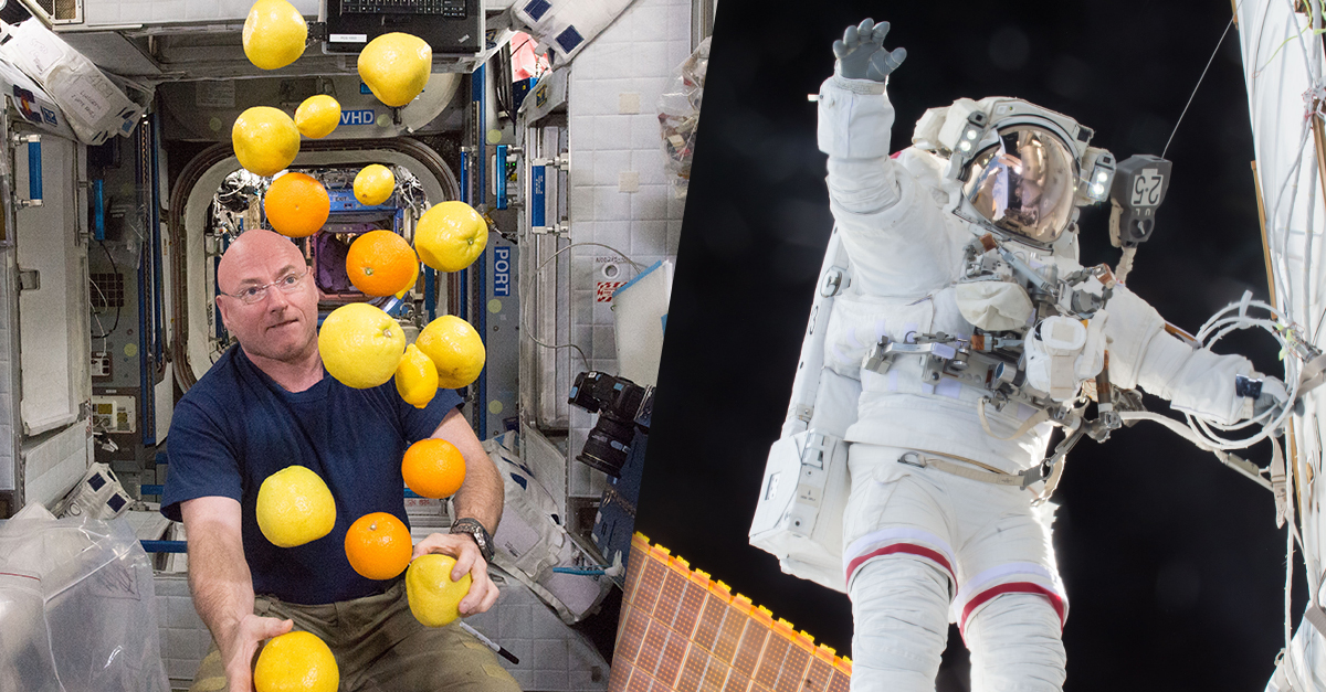 astronaut answers questions in space - photo #24