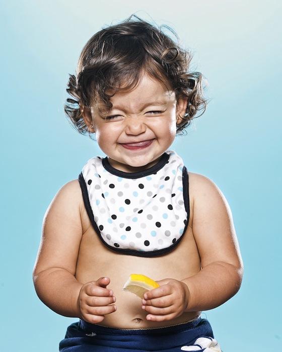 Babies and Toddlers Tasting Lemons - 02