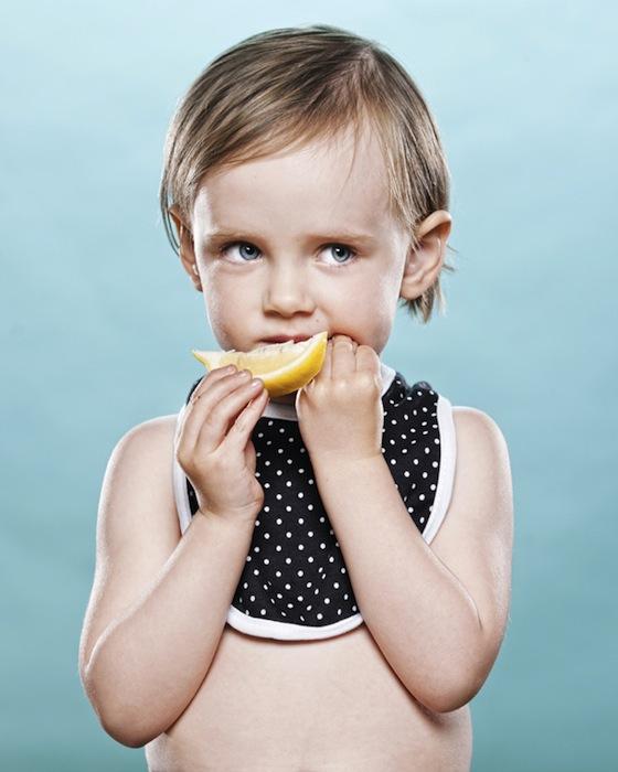 Babies and Toddlers Tasting Lemons - 03
