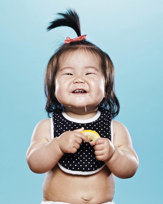 Babies and Toddlers Tasting Lemons - 08