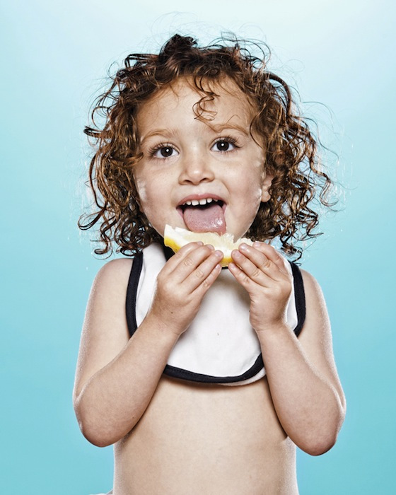 Babies and Toddlers Tasting Lemons - 09