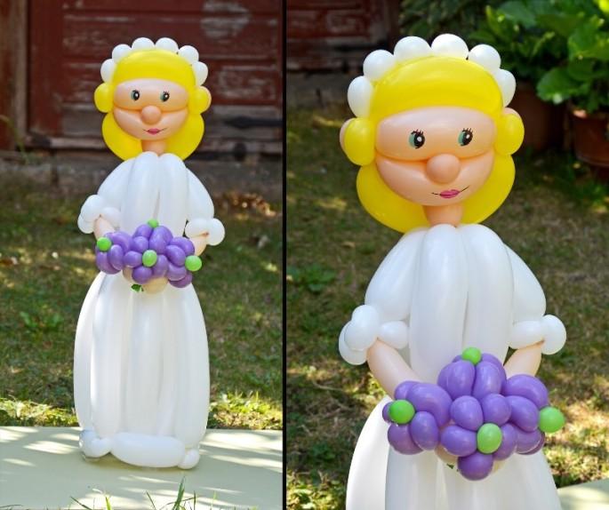 Balloon Art Bride