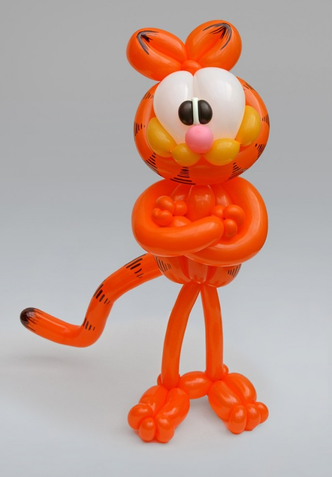 Balloon Art Garfield