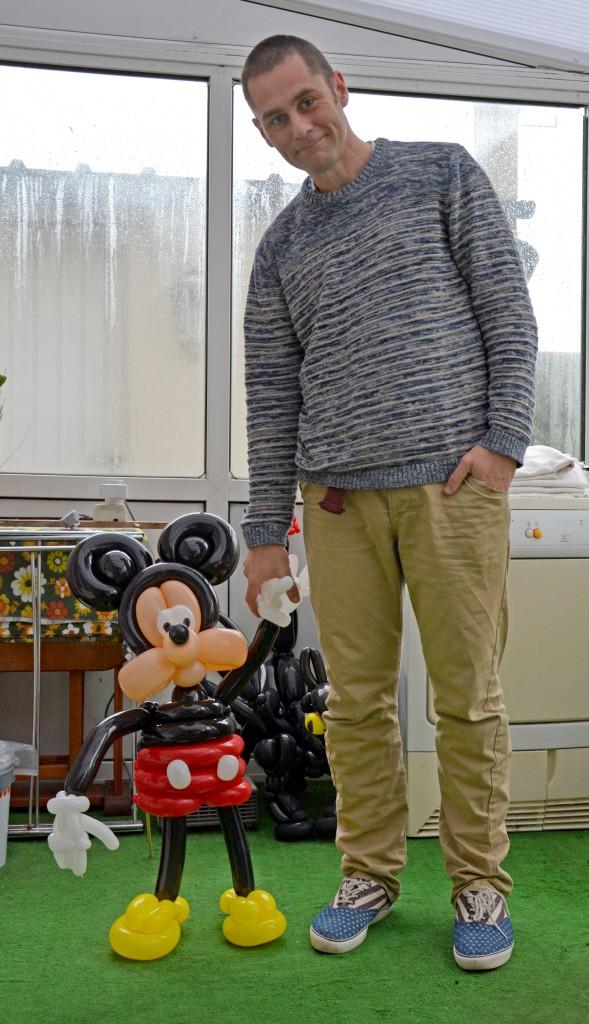 Balloon Art Mickey Mouse