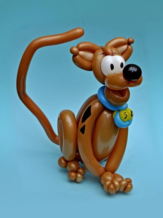 Balloon Art Scooby-Doo
