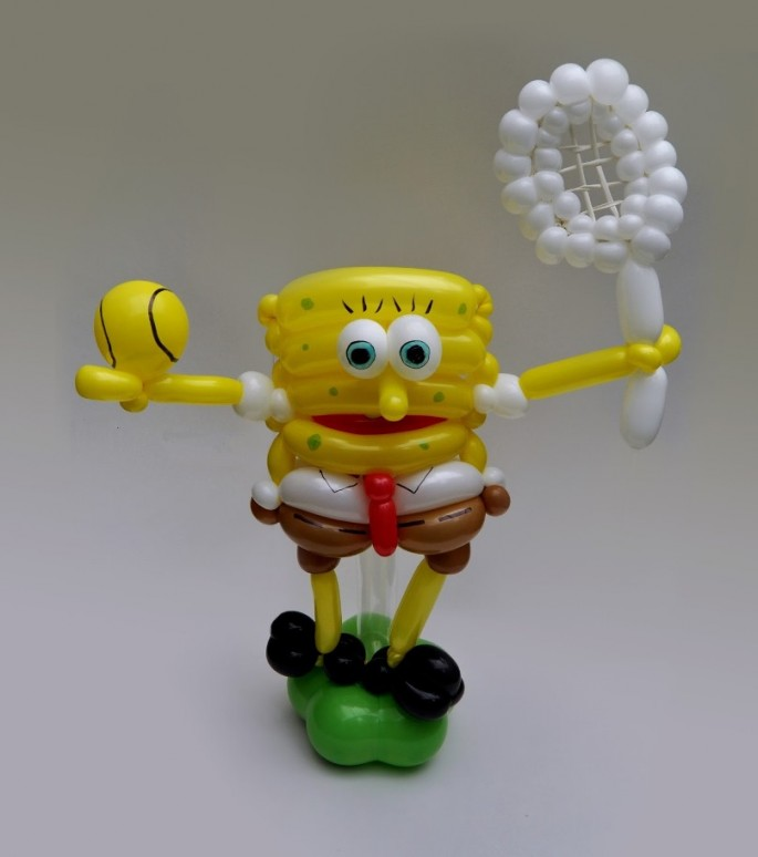 Balloon Art Spongebob