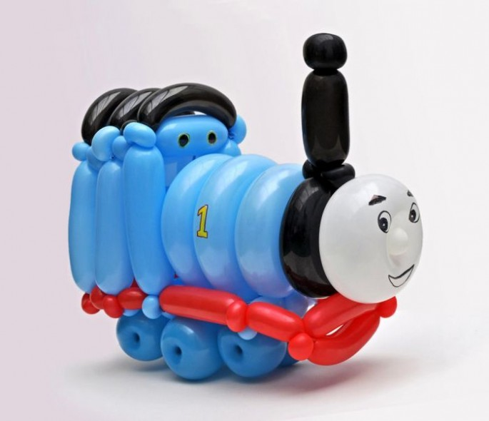 """""""Thomas the Tank Engine"""". (Photo by Rob Driscoll/Caters News Agency)"""