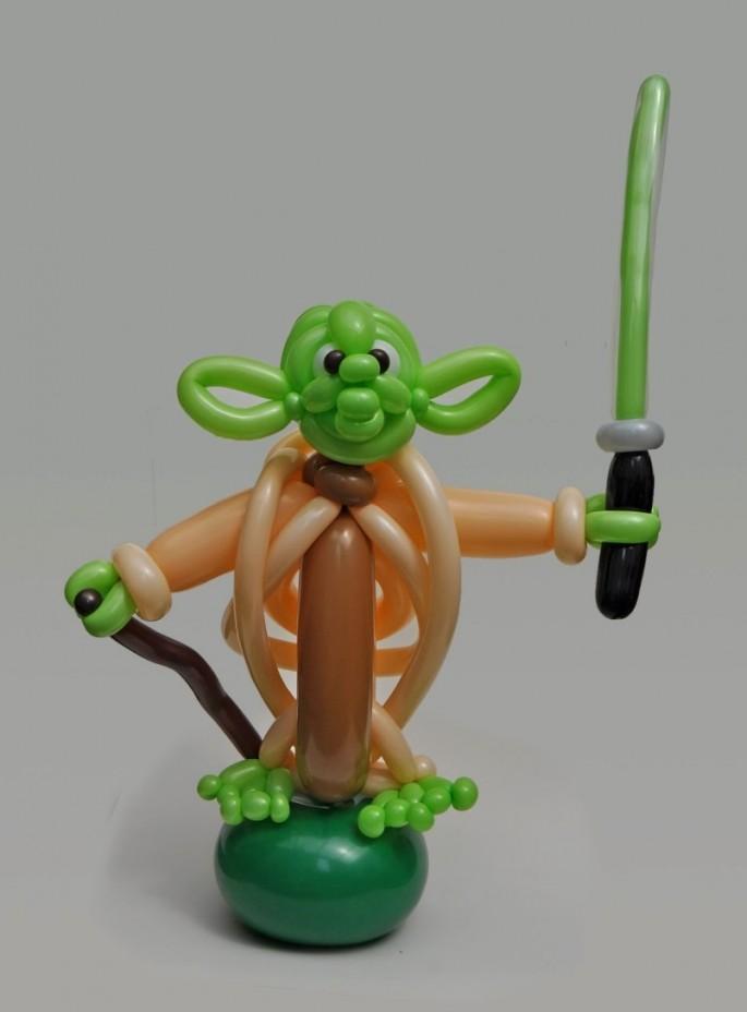Balloon Art Yoda