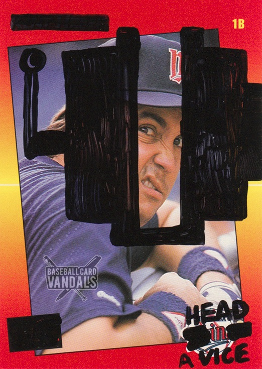 Baseball Card Vandals - 03